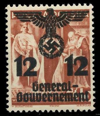 GENERALGOUVERNEMENT Nr 33I postfrisch 889E42