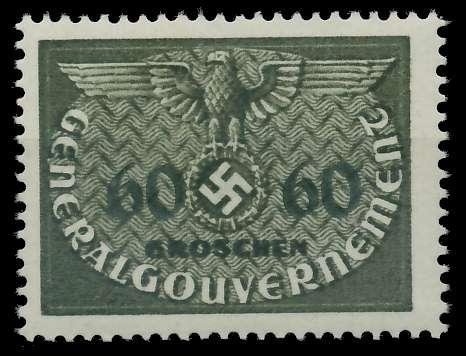 GENERALGOUVERNEMENT DIENST Nr 11 postfrisch 889F76