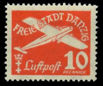 DANZIG 1935 Nr 251 ungebraucht 88A586