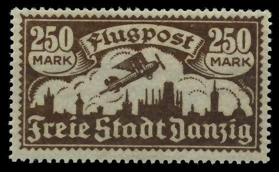 DANZIG 1923 Nr 136Y ungebraucht 88CD92