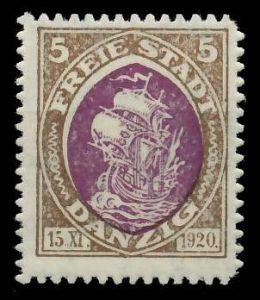 DANZIG 1921 Nr 54 postfrisch 88D016