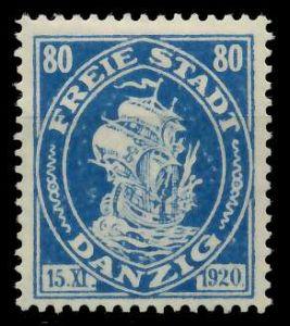 DANZIG 1921 Nr 65 ungebraucht 88D032