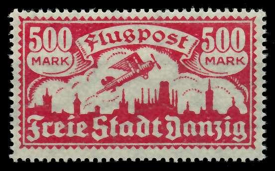 DANZIG 1923 Nr 137Y postfrisch 88D1BE