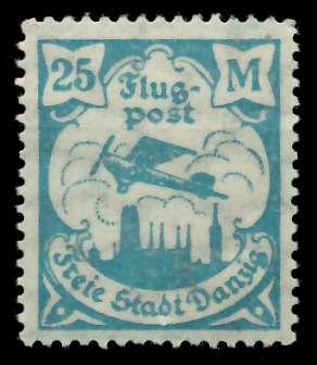 DANZIG 1923 Nr 133Y postfrisch 88D1C6