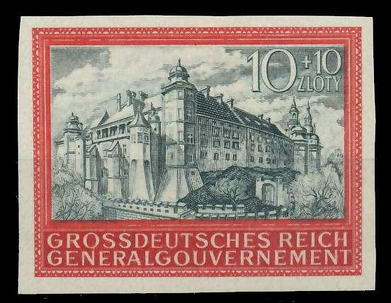 GENERALGOUVERNEMENT 1944 Nr 125U postfrisch 88FE22