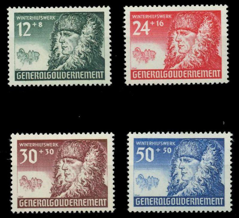 GENERALGOUVERNEMENT 1940 Nr 59-62 postfrisch 88FE46