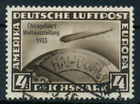 DEUTSCHES REICH 1933 Nr 498 gestempelt 890006
