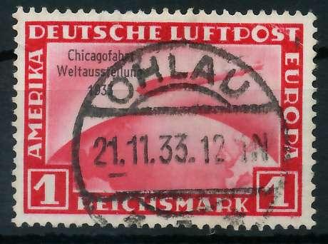 DEUTSCHES REICH 1933 Nr 496 zentrisch gestempelt gepr. 89000A