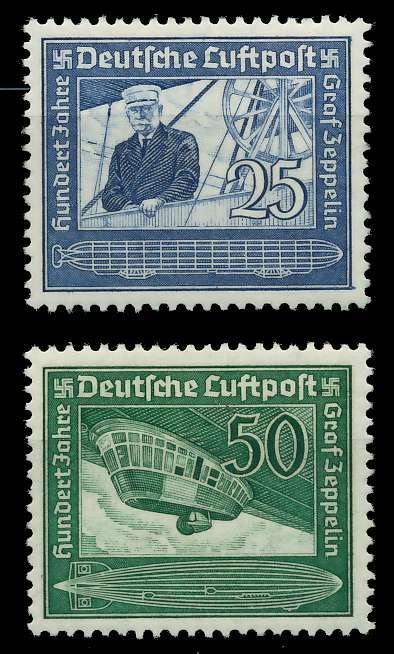 DEUTSCHES REICH 1938 Nr 669-670 ungebraucht 890026