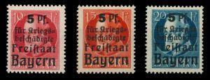 BAYERN Nr 171A-173A postfrisch 890486