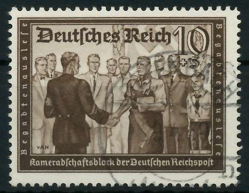 DEUTSCHES REICH 1939 Nr 707 zentrisch gestempelt 891F1E