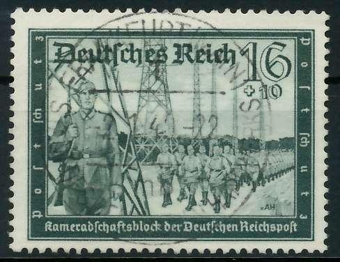 DEUTSCHES REICH 1939 Nr 710 zentrisch gestempelt 891F22