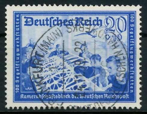 DEUTSCHES REICH 1939 Nr 711 zentrisch gestempelt 891F26
