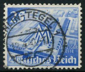 DEUTSCHES REICH 1940 Nr 742 zentrisch gestempelt 891F2E