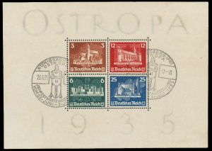 DEUTSCHES REICH 1935 Block 3 gestempelt 891F6A