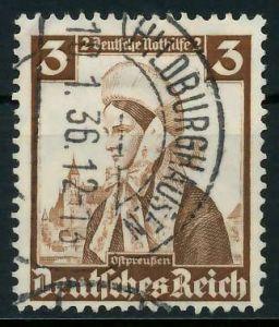 DEUTSCHES REICH 1935 Nr 588 gestempelt 891F86
