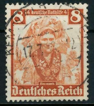 DEUTSCHES REICH 1935 Nr 592 zentrisch gestempelt 891F92