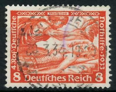 DEUTSCHES REICH 1933 Nr 503A zentrisch gestempelt 891F9E