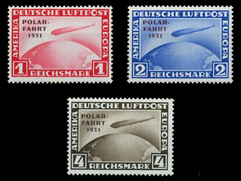 DEUTSCHES REICH 1931 Nr 456-458 ungebraucht gepr. 891FD6