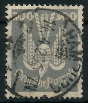 DEUTSCHES REICH 1924 Nr 350X zentrisch gestempelt gepr. 892002 0