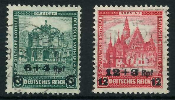 DEUTSCHES REICH 1932 Nr 463-464 gestempelt 892012 0