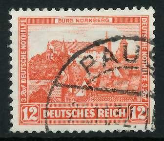 DEUTSCHES REICH 1932 Nr 476 gestempelt 89201A 0
