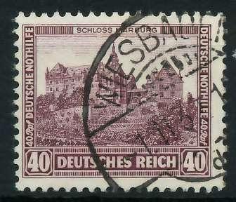 DEUTSCHES REICH 1932 Nr 478 gestempelt 89201E 0