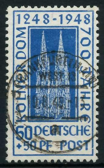 BIZONE KÖLNER DOM Nr 72YC zentrisch gestempelt 893F8E