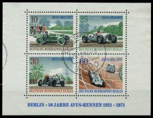 BERLIN BLOCK KLEINBOGEN Block 3 gestempelt 8943AA