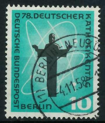 BERLIN 1958 Nr 179 gestempelt 894402