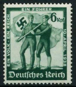 DEUTSCHES REICH 1938 Nr 662 postfrisch 895DAE
