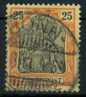 D-REICH GERMANIA Nr 58 gestempelt 895E8E