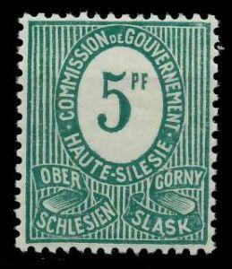 OBERSCHLESIEN Nr 3a postfrisch 895EA6