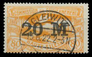 OBERSCHLESIEN Nr 43a gestempelt 895EAE