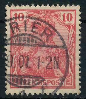 D-REICH GERMANIA Nr 56a gestempelt 895EB2