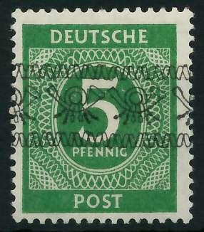 BIZONE BANDAUFDRUCK Nr IV I postfrisch gepr. 895F06