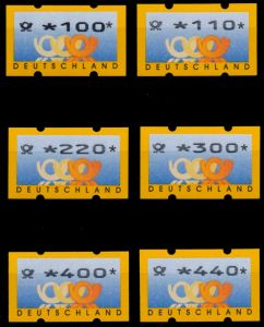 BRD ATM 1999 Nr 3-2-VS1 postfrisch S88B80A