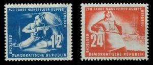 DDR 1950 Nr 273-274 postfrisch 89620E
