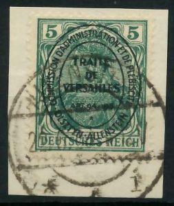ALLENSTEIN Nr 15 zentrisch gestempelt Briefst³ck 8963D6
