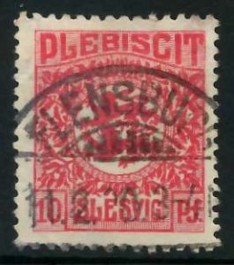 ABSTGEB SCHLESWIG Nr 4 gestempelt 8963E6
