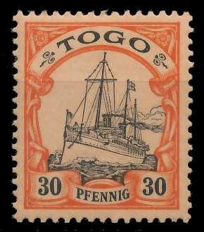 TOGO (DT. KOLONIE) Nr 12 postfrisch 89743E