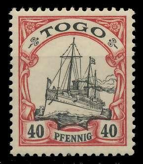 TOGO (DT. KOLONIE) Nr 13 postfrisch 89744A