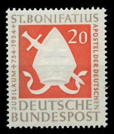 BRD 1954 Nr 199 postfrisch 7EAF96