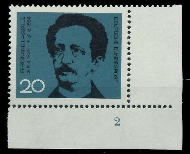 BRD 1964 Nr 443 postfrisch FORMNUMMER 2 7ECE92