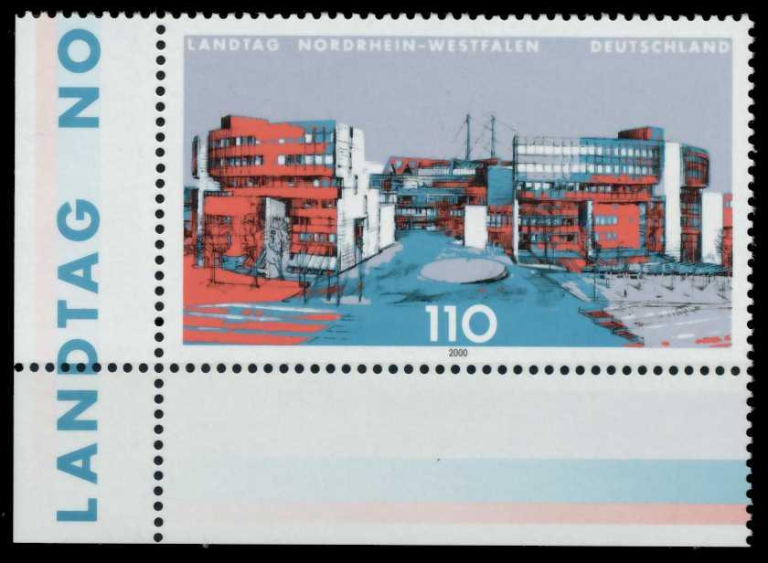 BRD 2000 Nr 2110 postfrisch ECKE-ULI S7B920A