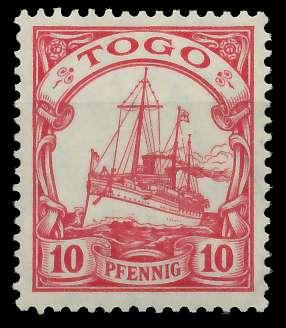TOGO (DT. KOLONIE) Nr 22 postfrisch 898D82
