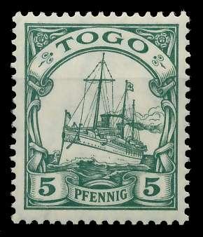 TOGO (DT. KOLONIE) Nr 21 postfrisch 898D9E