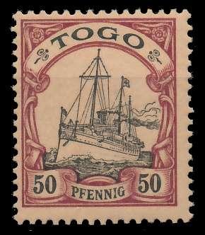 TOGO (DT. KOLONIE) Nr 14 postfrisch 898DA6
