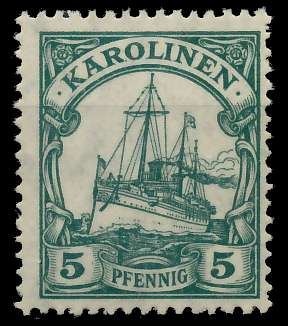 KAROLINEN (DT. KOLONIE) Nr A21 ungebraucht 898E02