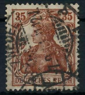 DEUTSCHES REICH 1900 18 GERMANIA Nr 103b ZENTR- 899072
